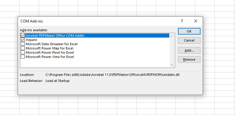 How to activate Excel Add-in